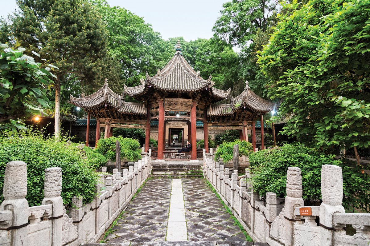 Xi'an's Great Mosque.