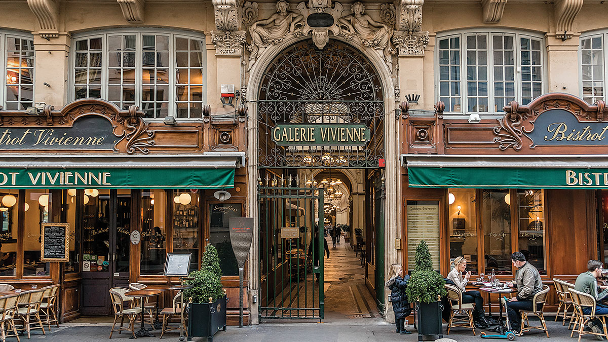 Travel in good taste in Paris.