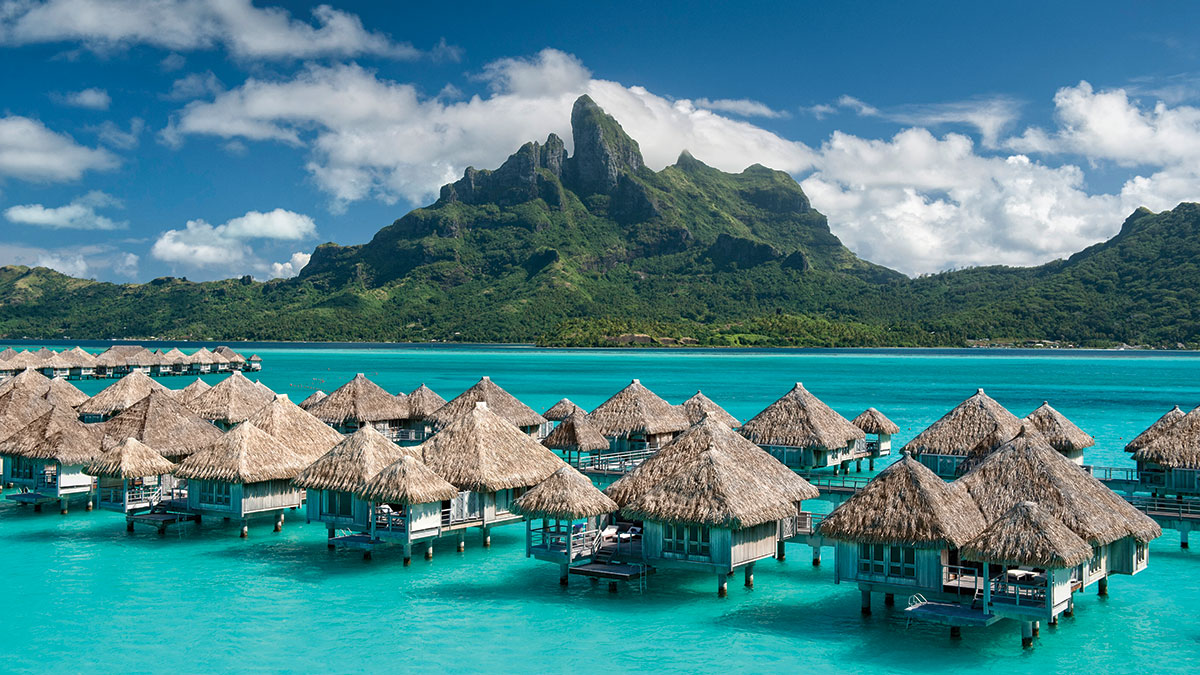 The St. Regis Bora Bora Resort.