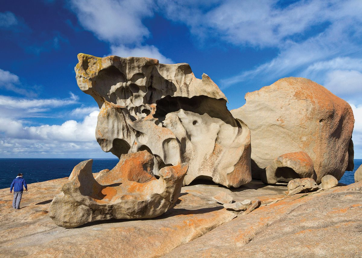 <br /> South Australia's Remarkable Rocks.