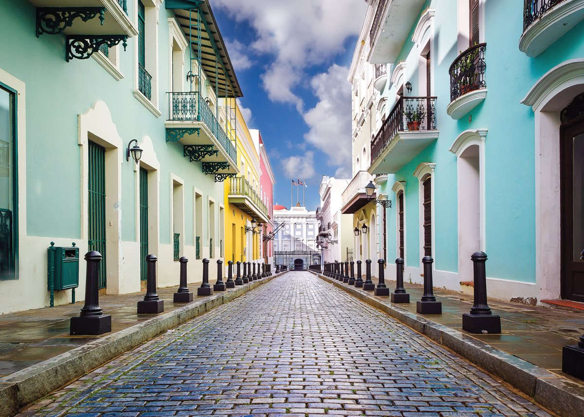 Colorful Old San Juan.