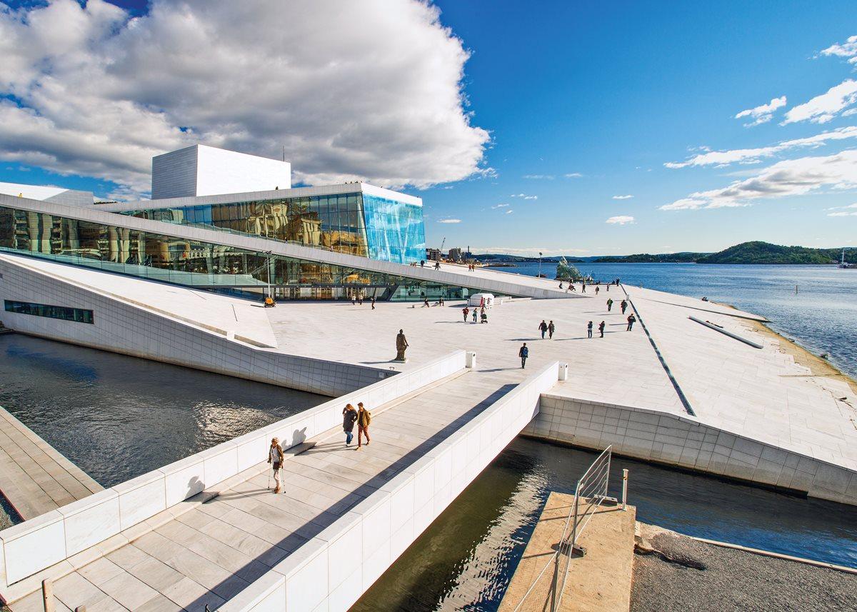 Oslo's Opera House.