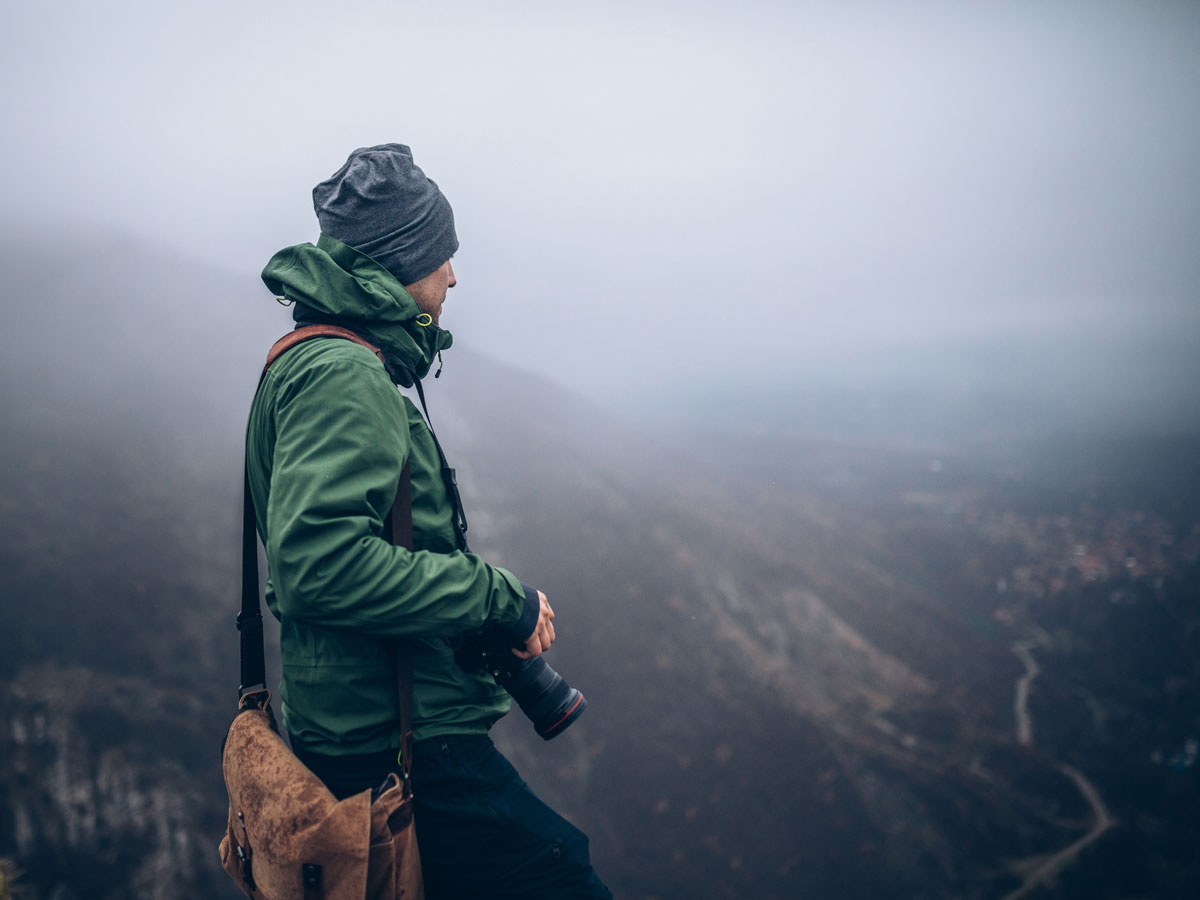 Grey days can be a boon to outdoor photographers.