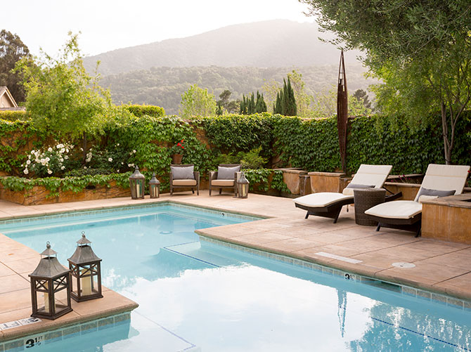 Channeling Tuscany in Carmel Valley at Bernardus Lodge & Spa.