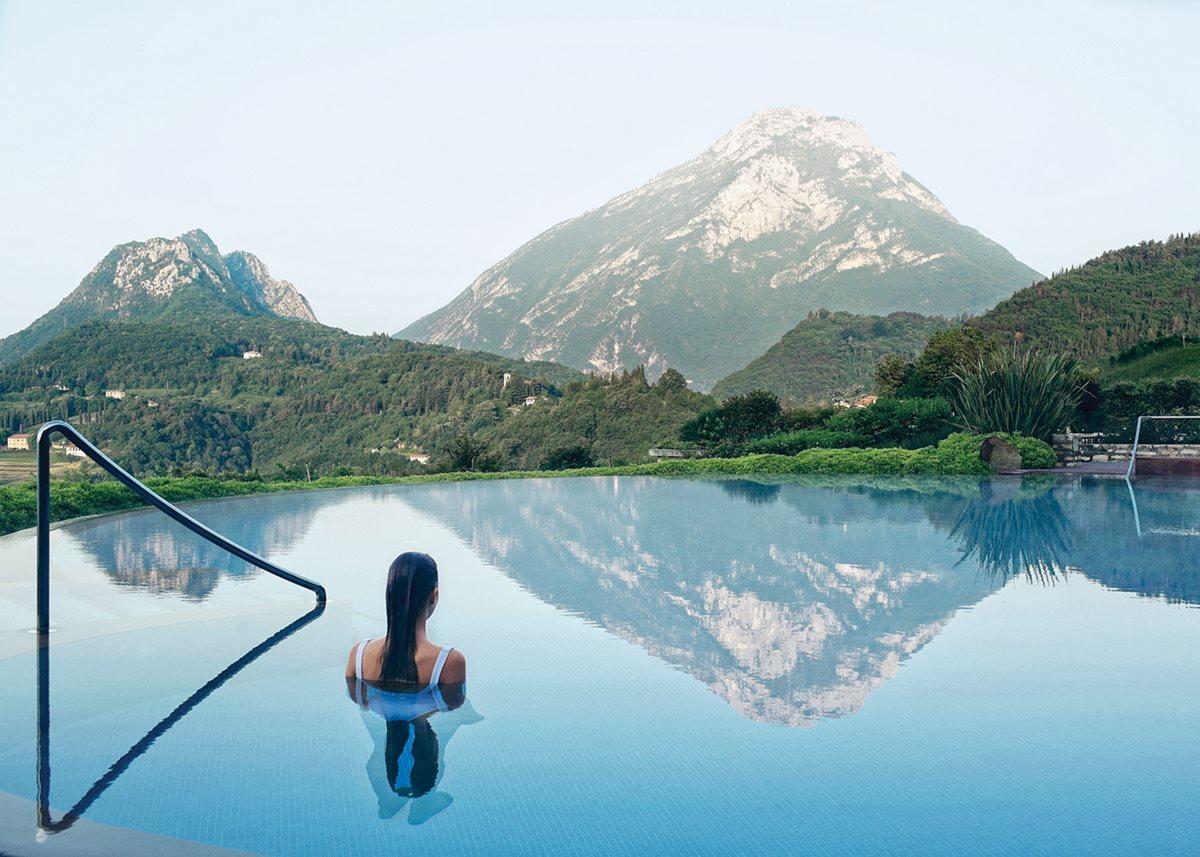 Soak, then sleep, at Italy's Lefay Resort & Spa.